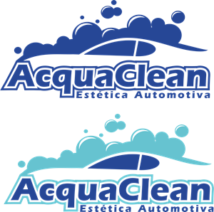 Acqua Clean Logo Vector - Acqua Boat Logo Vector PNG