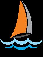 Beach Boat Logo Vector - Acqua Boat Logo Vector PNG
