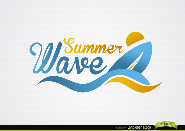 Surfing Boat Waves Beach Logo. Download Large Image 640x453px - Acqua Boat Logo Vector PNG
