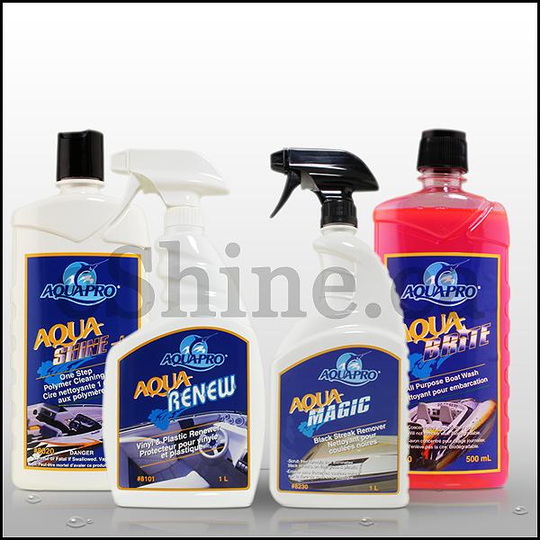 Aqua Pro Aqua Boat Care Kit - Acqua Boat PNG