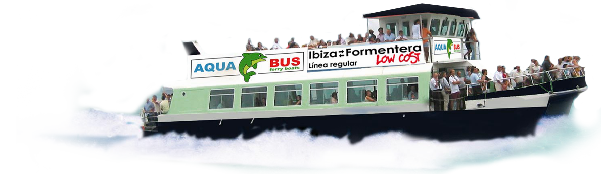 Aquabus Ferry Boats Ibiza - Acqua Boat PNG