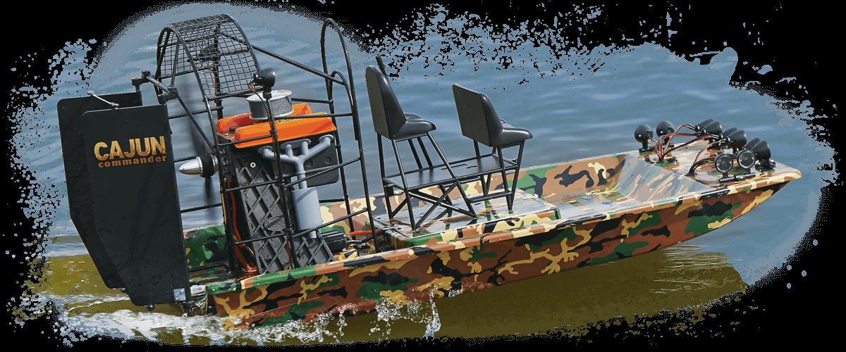Cajun Commander RTR - Acqua Boat PNG