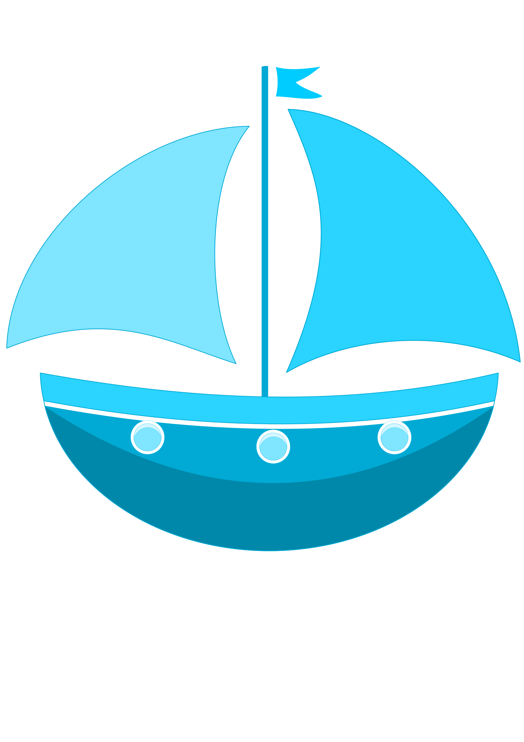 Cartoon Ship Vector Clipart. Graphic by Susa - Acqua Boat Vector PNG