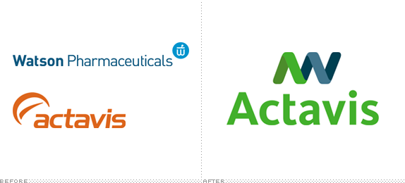 Actavis Logo, Before and After - Actavis PNG