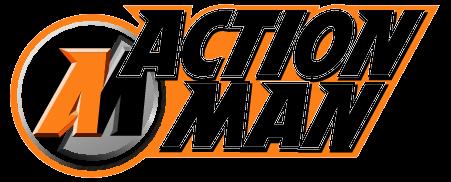 Action Man Logo Vector PNG