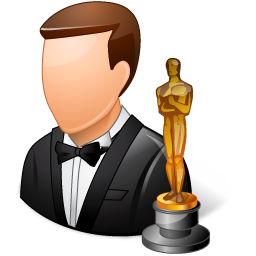128x128 px, Occupations Actor Male Light Icon 256x256 png - Actor PNG