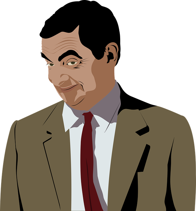 Actor, Atkinson, Bean, British, Comedian, Comic, Face - Actor PNG
