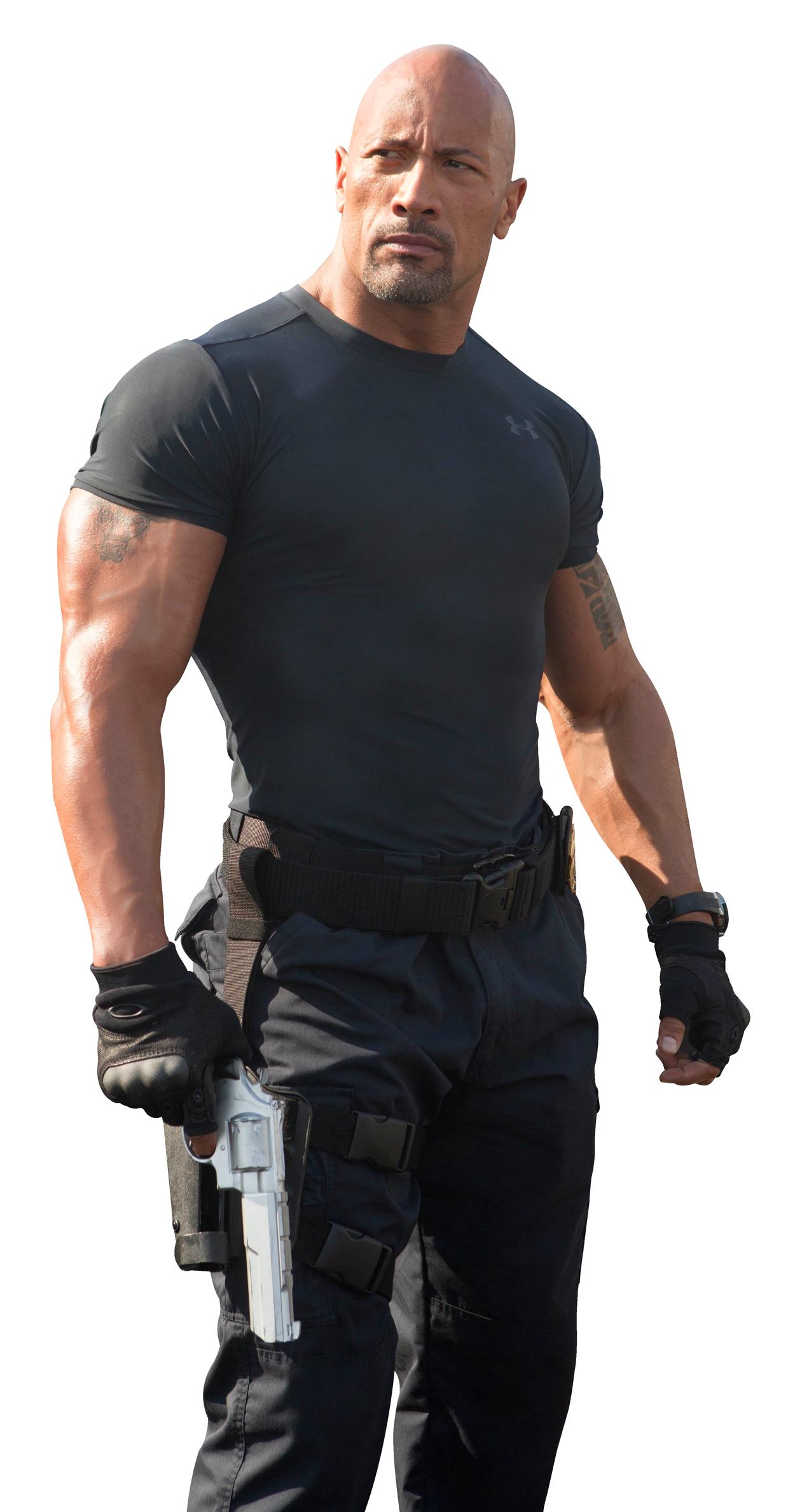 Dwayne Johnson PNG Transparent Image - Actor PNG
