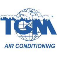 TGM Air Conditioning Logo Vec