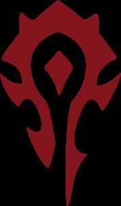 World of Warcraft Horde PvP Logo - Ada World Vector PNG - Ada World Logo Vector PNG