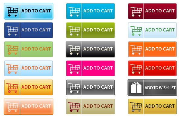 Add to Cart Button PNG - 28241