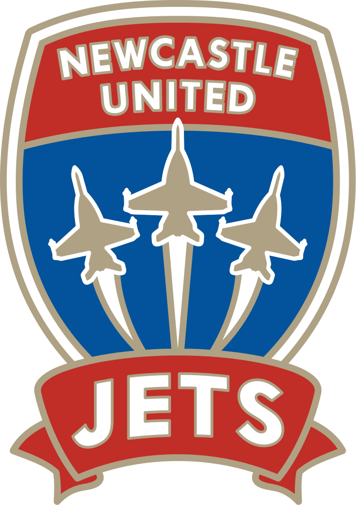 Newcastle Jets logo - Adelaide United Fc PNG