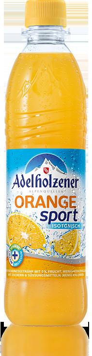 Adelholzener Orange Sport (Sport Orange) - Adelholzener PNG - Adelholzener Vector PNG