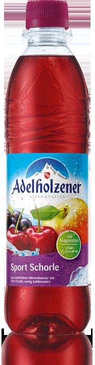 Adelholzener Sport Schorle (Sports Spritzer) 0,5L PET-Mehrweg - Adelholzener  PNG - Adelholzener Vector PNG