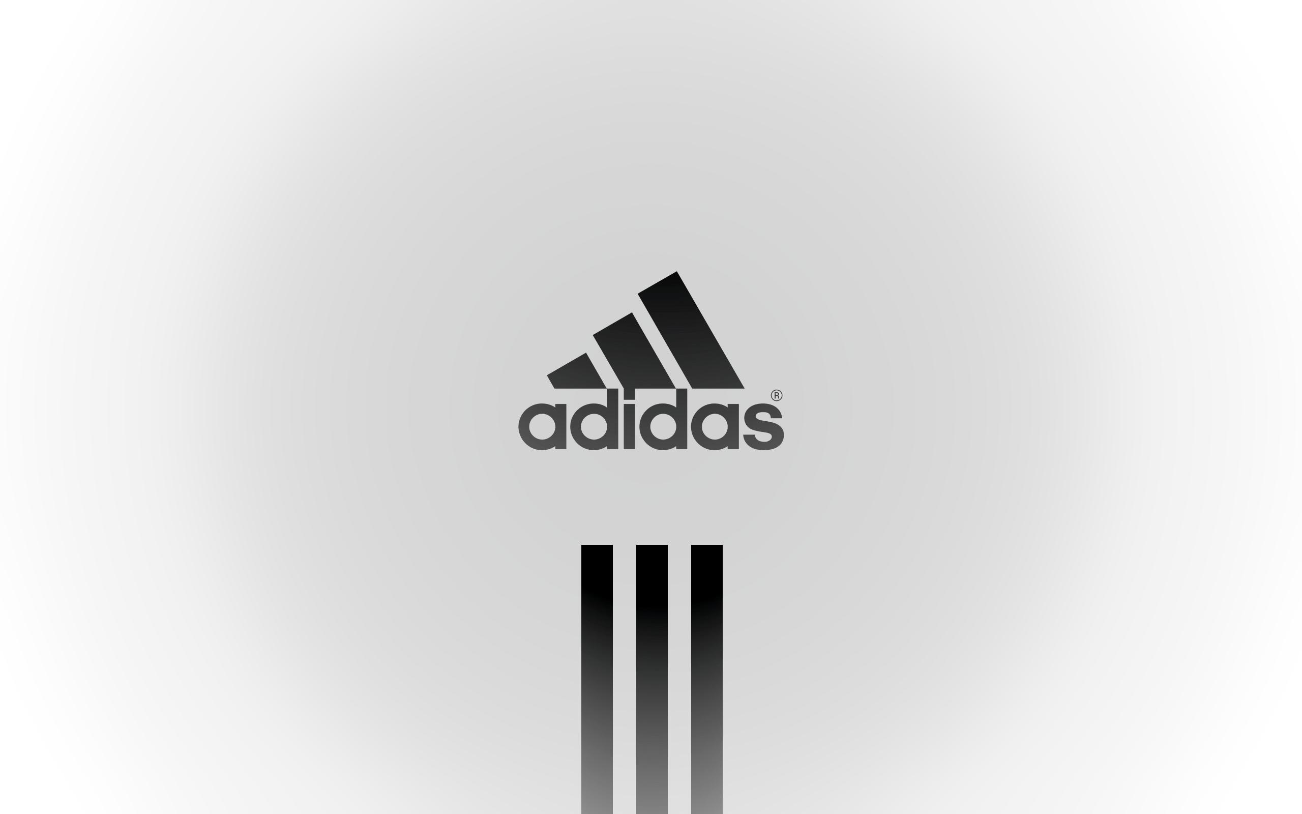 Adidas Logo White Png - Adidas HD PNG