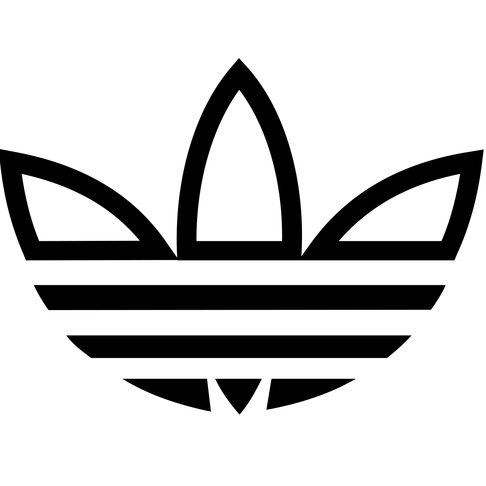 Adidas Trefoil icon - Adidas Trefoil PNG