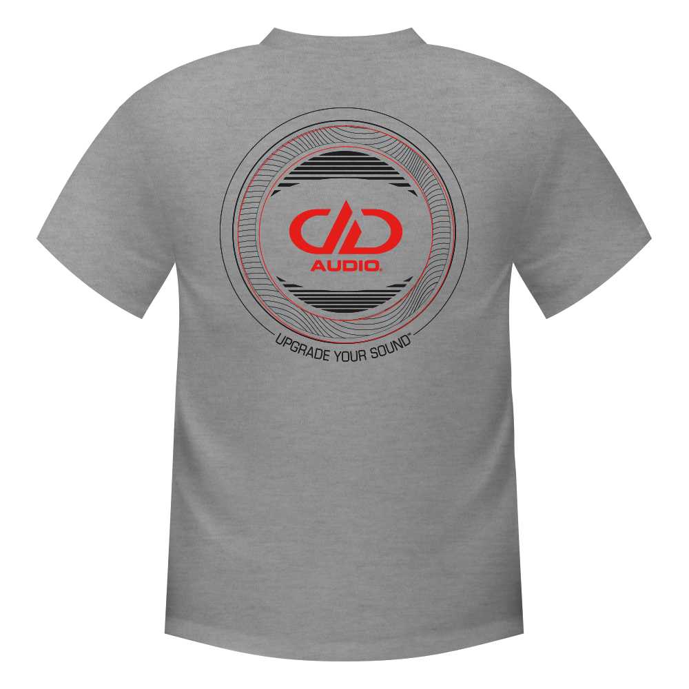 DD Audio T-Shirt Upgrade Your Sound - Adio Clothing PNG