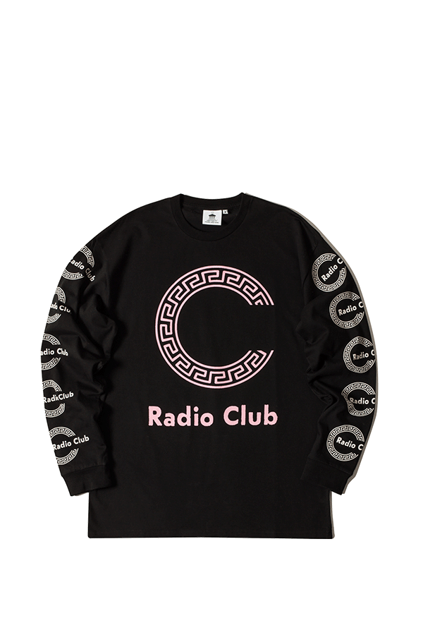 L/S Radio Club Roma SNCHI022620 BL - Adio Clothing PNG