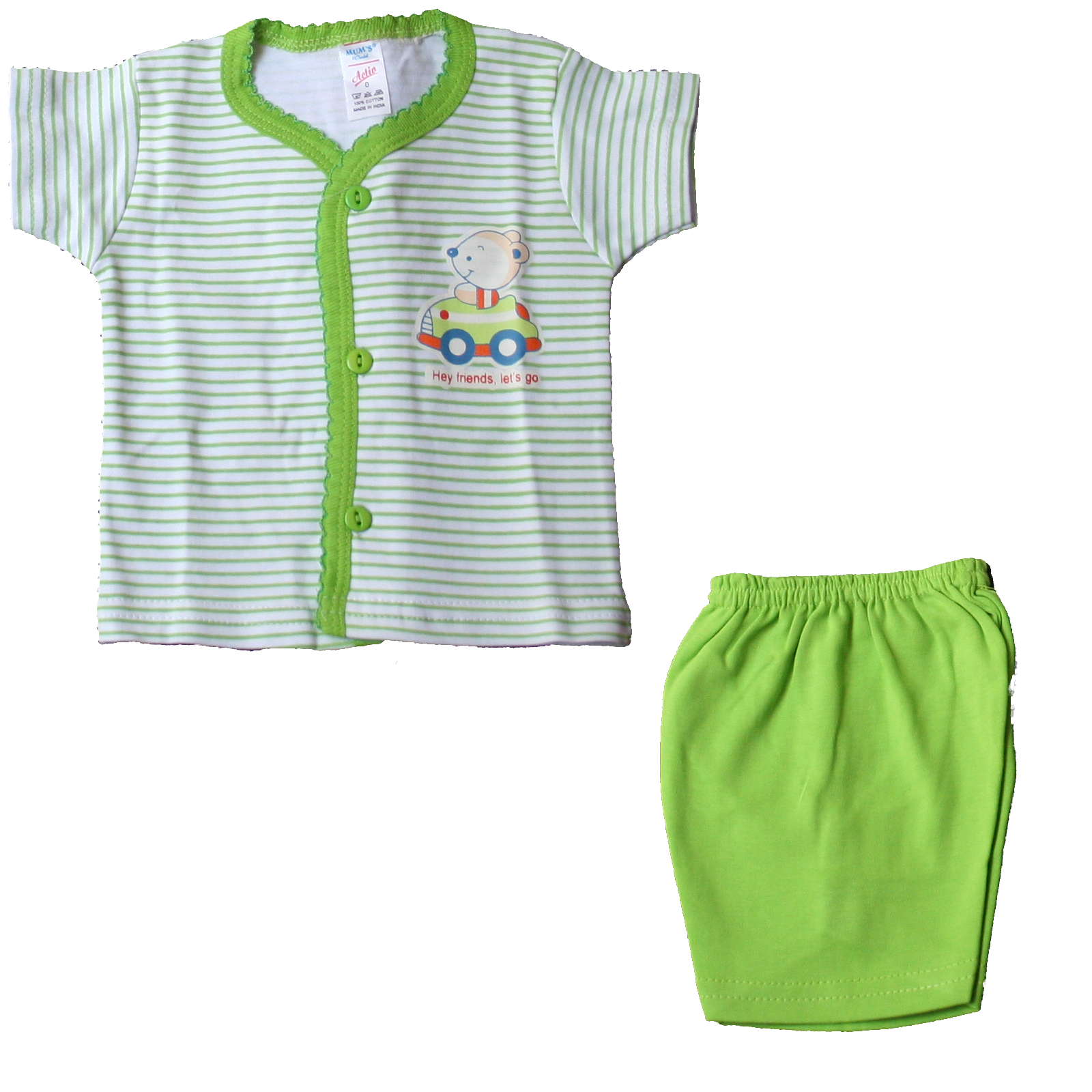 Newborn Assorted Complete Summer Clothing Collection Kit - Adio Clothing PNG