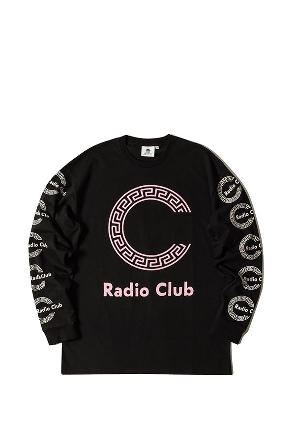 Audio Clothing L/S Radio Club Roma SNCHI022620 BL PlusPng.com  - Adio Clothing Vector PNG