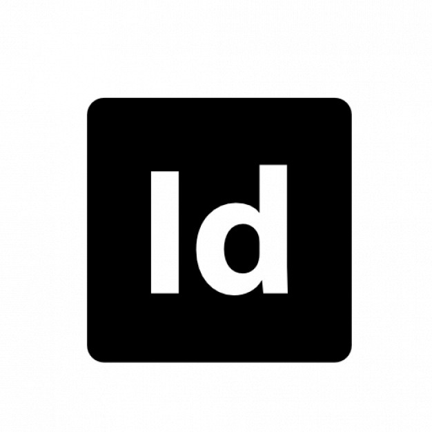 Adobe InDesign Free Icon - Adobe Black Logo Vector PNG