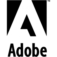 Logo of adobe - Adobe Black Vector PNG