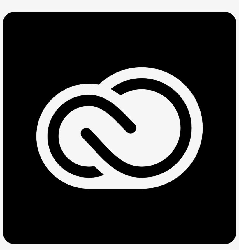 Adobe Creative Cloud Filled Icon - Adobe Creative Cloud Logo White Pluspng.com  - Adobe Creative Cloud Logo PNG