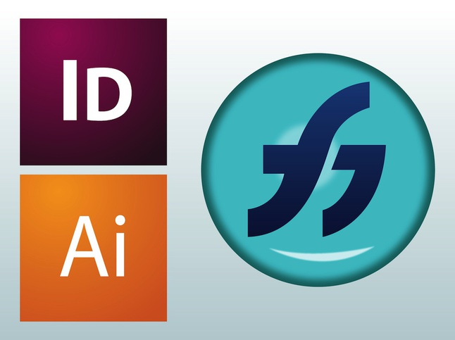 Adobe Flash 8 Logo Vector PNG - 28483