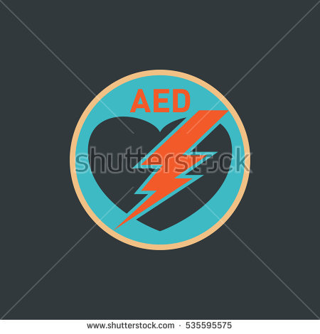 AED (Automated External Defibrillator) vector logo - Aed Logo Vector PNG