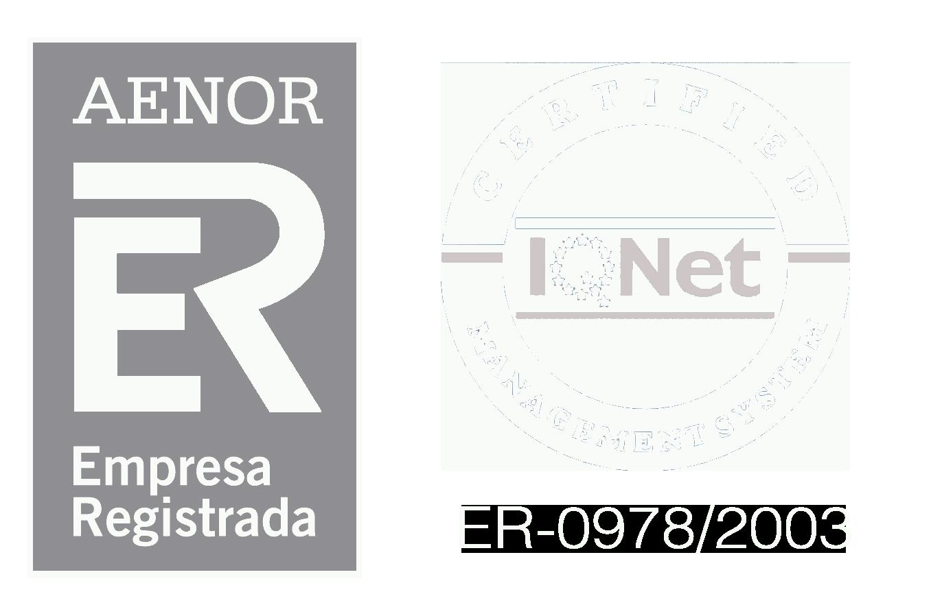 CERTIFICADO AENOR - Aenor Black PNG
