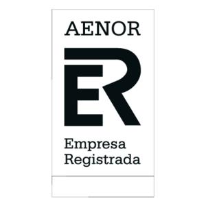 Free Vector Logo AENOR - Aenor Black PNG