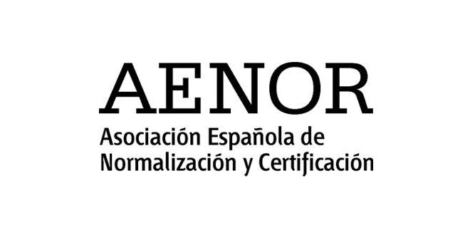 logo aenor - Aenor Black PNG