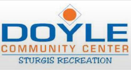Doyle Community Center logo - Aerobic Center PNG