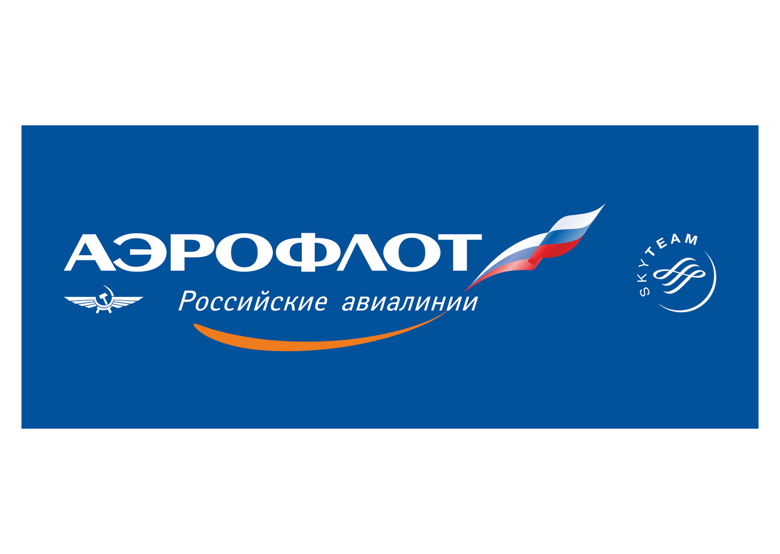 Aeroflot Russian Airlines Logo Vector - Aeroflot Russian Airlines PNG