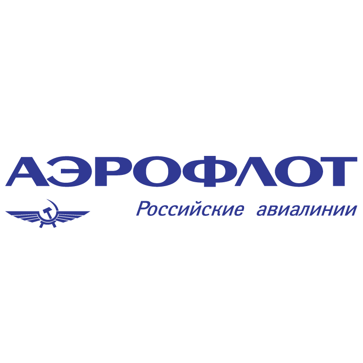 Aeroflot Russian Airlines Free Vector - Aeroflot Russian Airlines Vector PNG