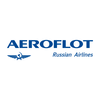 Aeroflot Russian Airlines vector logo . - Aeroflot Russian Airlines Vector PNG
