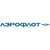 AEROFLOT Soviet Airlines Logo Vector - Aeroflot Russian Airlines Vector PNG
