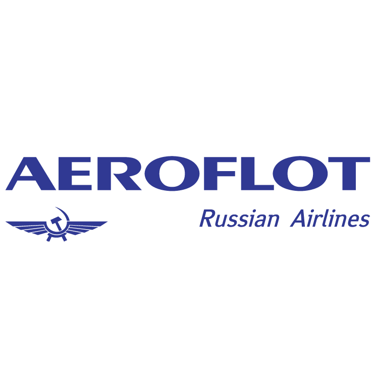free vector Aeroflot russian airlines 0 - Aeroflot Russian Airlines Vector PNG