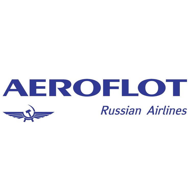 Free Vector Aeroflot Russian Airlines 0 - Aeroflot Russian Airlines Vector PNG