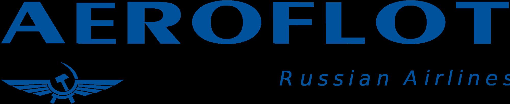Open PlusPng.com  - Aeroflot Russian Airlines Vector PNG