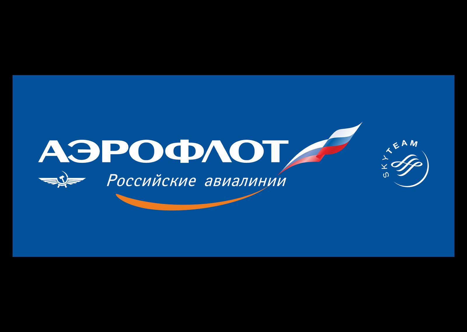 Aeroflot Russian Airlines Logo Vector - Aeroflot Vector PNG