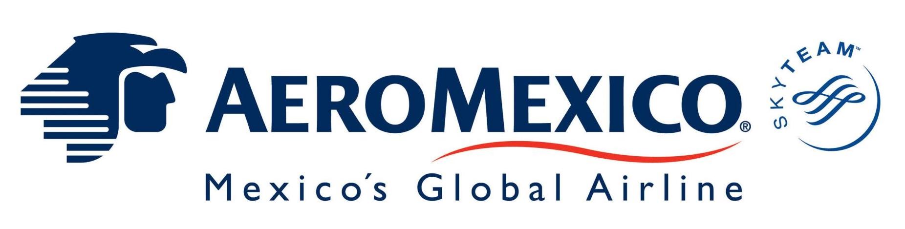 Aeromexico logotype 2, logo - Aeromexico Logo PNG