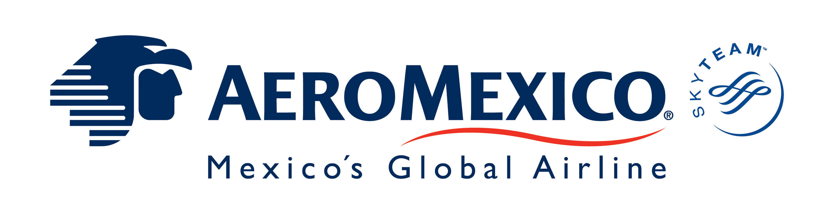Aeromexico Logo. (PRNewsFoto/Aeromexico) - Aeromexico Skyteam PNG