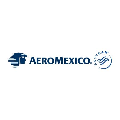AeroMexico SkyTeam logo vector . - Aeromexico Skyteam PNG