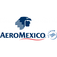 Logo of Aeromexico - Aeromexico Skyteam PNG