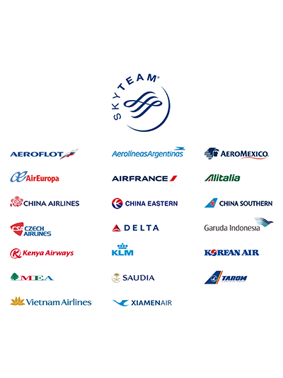 Loyalty pays off - Aeromexico Skyteam PNG
