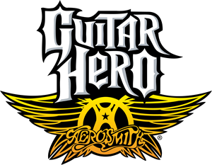 Aerosmith Guitar Hero Logo Vector - Aerosmith Music Vector PNG