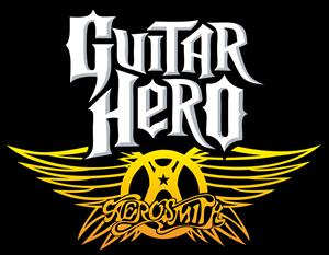 Aerosmith Guitar Hero Logo Vector - Aerosmith Record Vector PNG