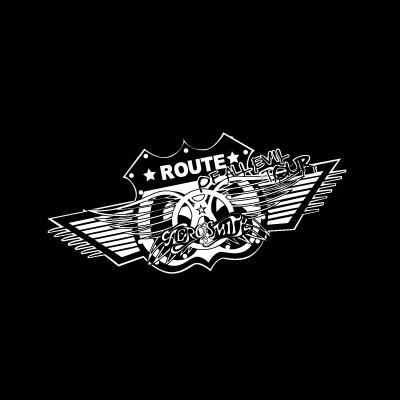 Aerosmith Route vector logo - Aerosmith Record Vector PNG