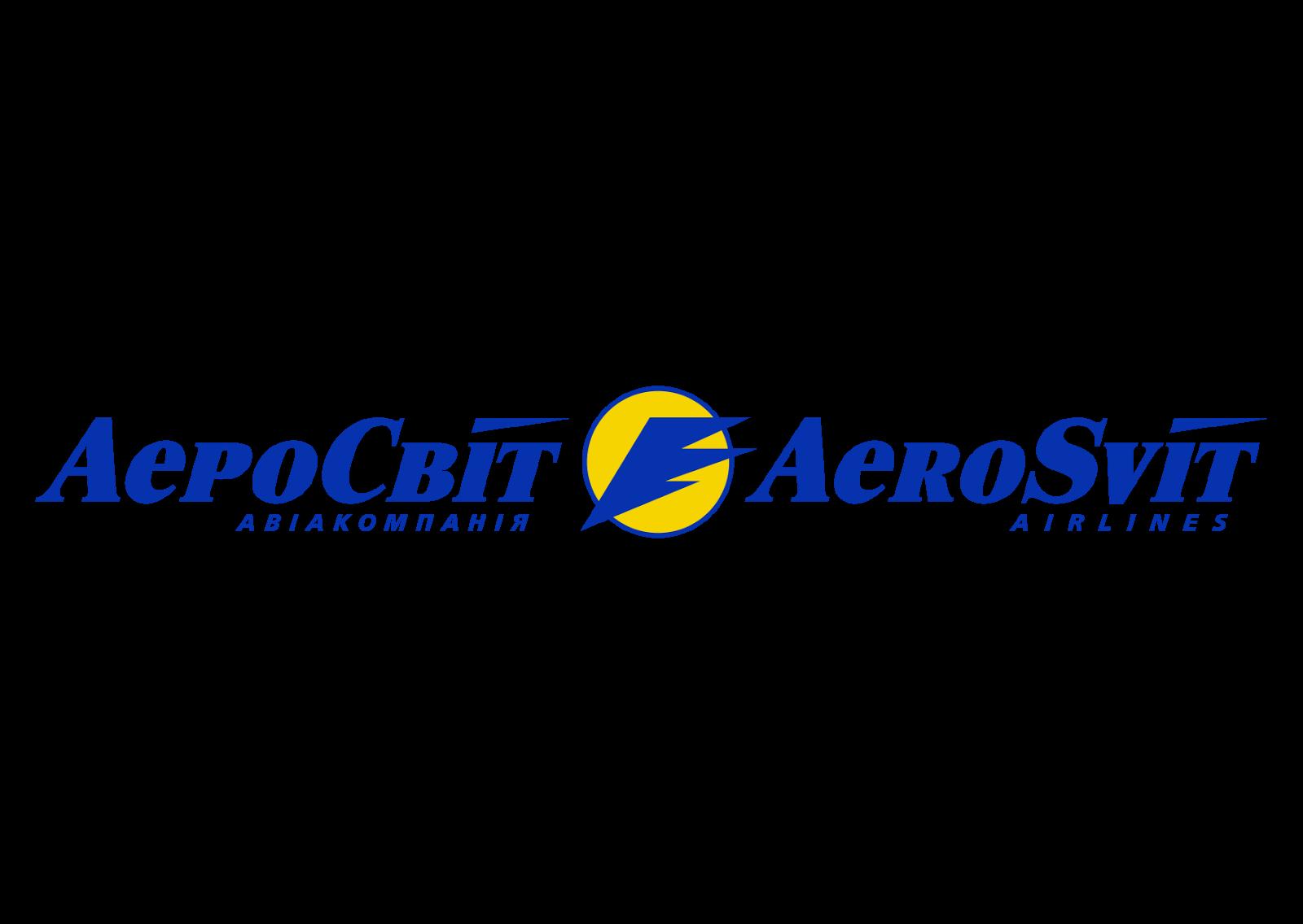 AeroSvit Airlines Logo Vector - Aerosvit Airlines Logo PNG